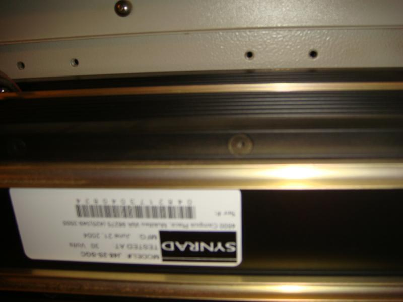 Synrad 25 watt CO2 laser J48-2 RF metal tube laser in laser engraver