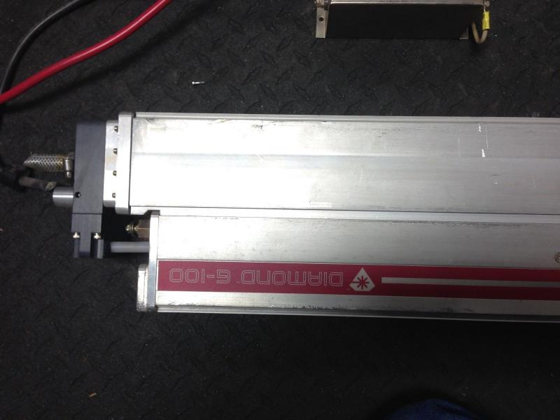 Coherent G100 CO2 Laser head 100 watts output power
