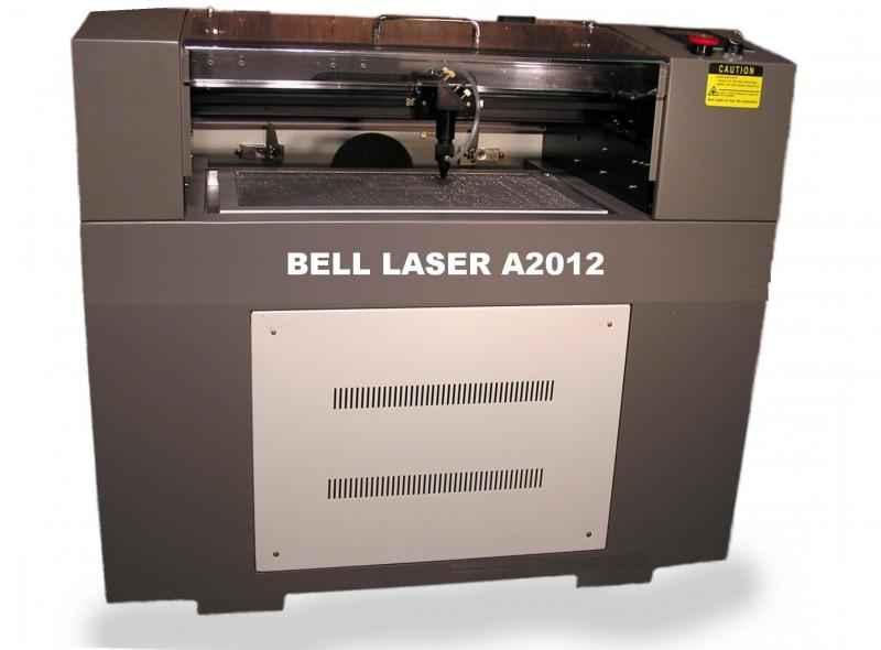 "Laser Engraver and Cutter sized  20"" wide by 12 deep with pass-through"