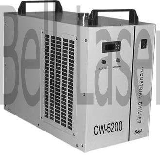 A larger laser chiller can maintain proper temperature, reducing power fluctuati