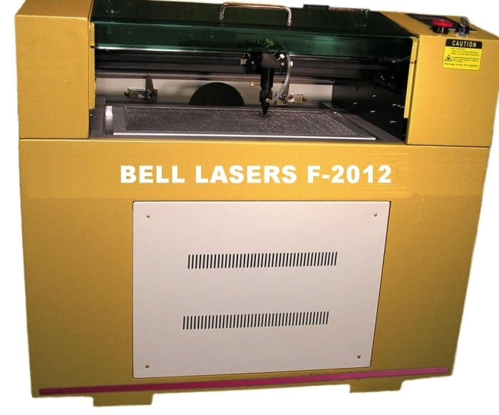 "Fiber Laser Marker Flying Optics sized 20"" wide x 12"" deep"