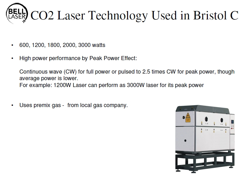 Fast Flowing Gas CO2 Lasers for Cutting Metals