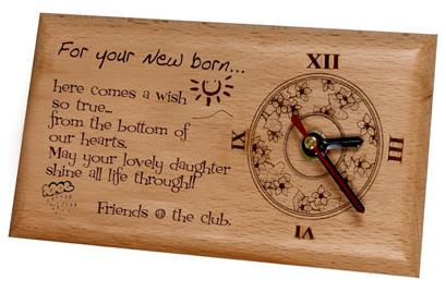 CO2 laser engraved wood is popular in many aspects of the gift and woodworking i