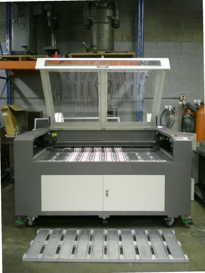 Custom Laser Machine Fixtures and Automated Material Handling Equipment