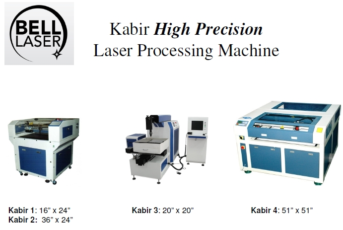 Kabir Precision Laser Machines Offer a Variety of Sizes