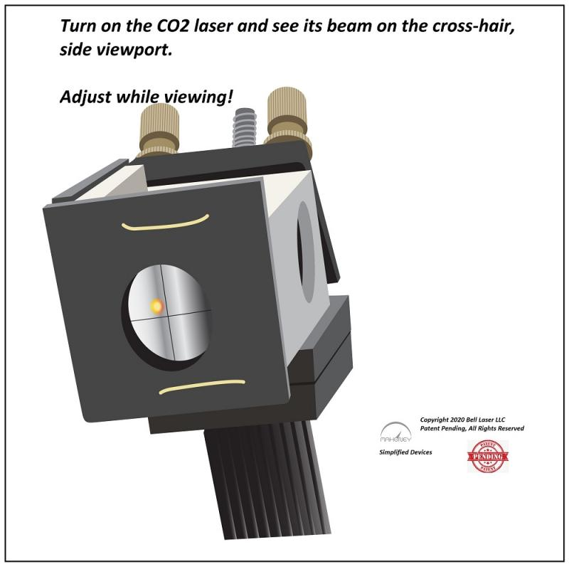CO2 Laser Beam Alignment Visualization Tool for Laser Engravers