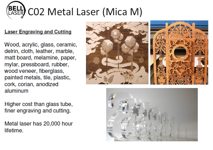 Thin acrylic cutting. Thick acrylic cutting. Popular laser processing uses.