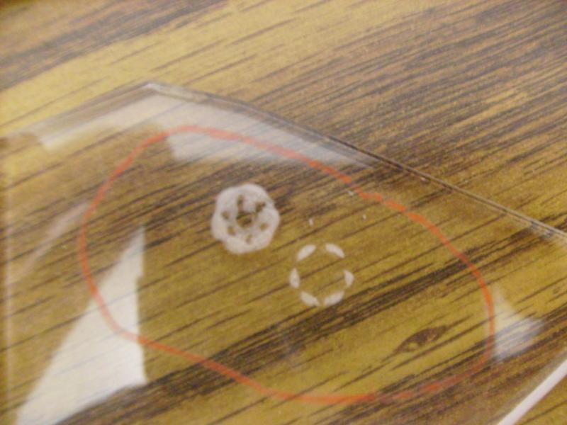 Gas Depleted Mode Burn. Replace Glass Tube Laser
