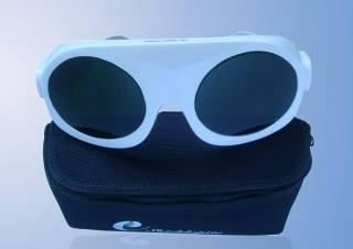 Laser Safety Glasses are good protection during laboratory testing with open lea
